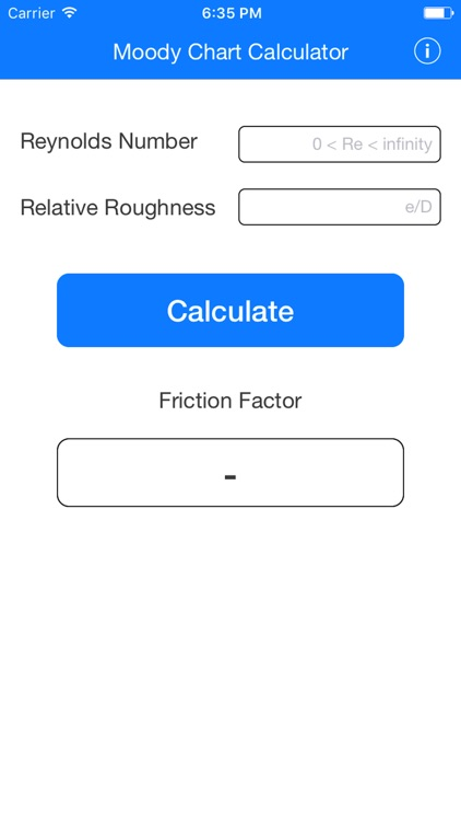 Moody chart calculator by ali batayneh moody chart calculator ccuart Gallery