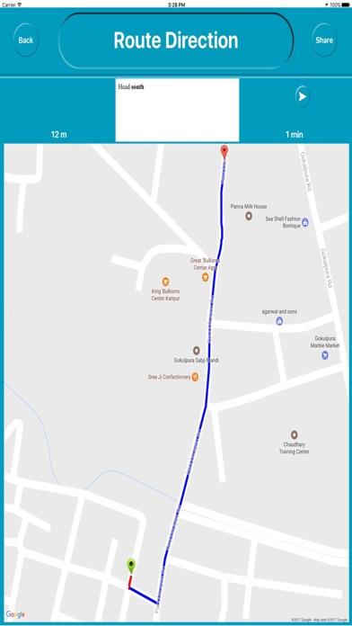 Agra india Offline Maps (eMap) Скриншоты5