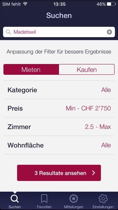 Screenshot von home.ch4
