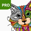 Cat Coloring Pages for Adults PRO