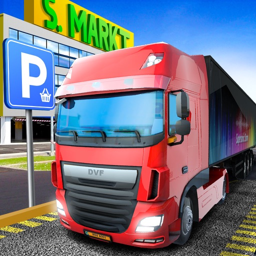 Delivery Truck Driver Highway Ride Simulator