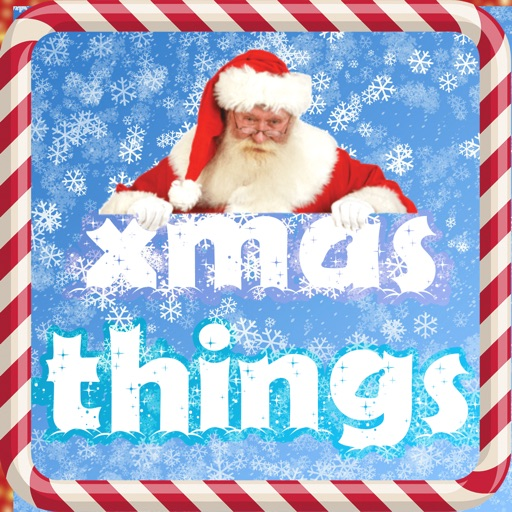 Christmas Game for Kids - Guess Xmas Things Icon iOS App