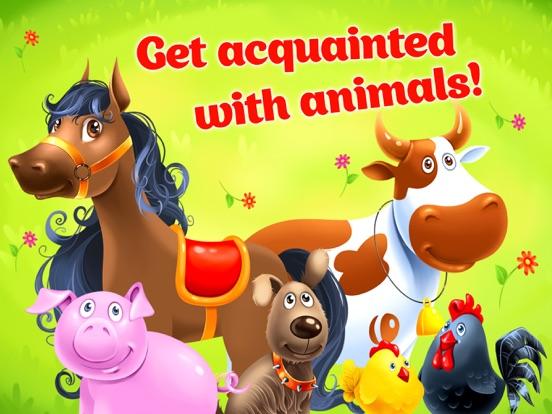 Игра Ферма животных - развивающая игра для малышей