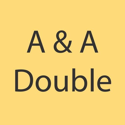 A and A Double iOS App