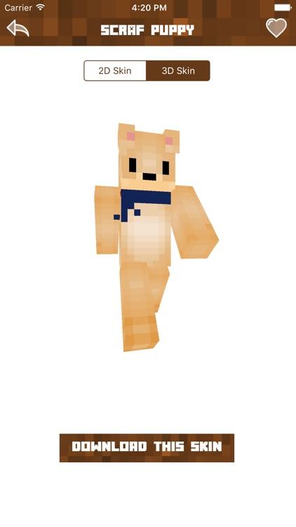 Dog Skins Best Skins For Minecraft PE PC By Nidhi Mistri - Dog skins fur minecraft