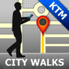 Kathmandu Map and Walks, Full Version