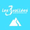 Les 3 Vallées: Plan des pistes 3D