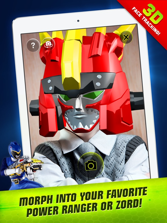 Power Rangers Dino Charge Scanner on the App Store