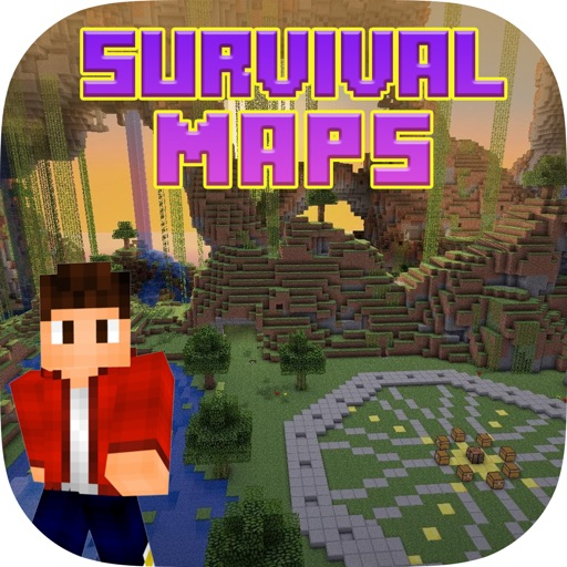 Maps for minecraft survival forgt pocket edition par for Explore craft survival pe