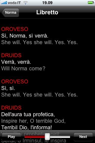 Screenshot of Opera: Norma4