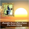 Beautiful Sunset Photo Frames Free Online Editing bike frames online