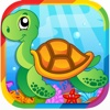 Ocean Animal Pairs Matching Games for Kid & Toddle