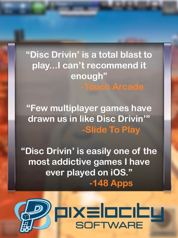 Disc Drivin' HD Screenshots