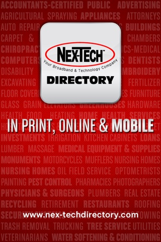 Nex-Tech Phone Directory screenshot 1