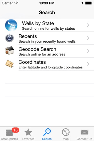 WellSite Navigator USA UL screenshot 1