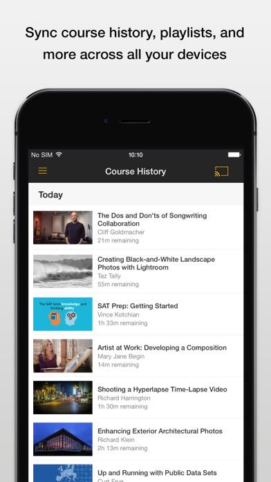 download Lynda.com appstore review
