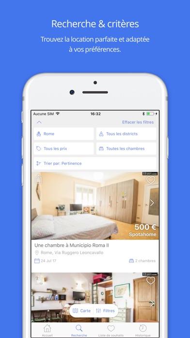 Nestpick »Appartements à louerCapture d'écran de 2