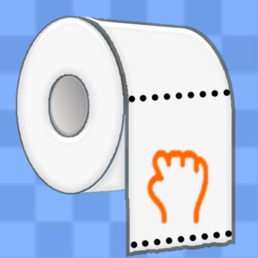 Toilet Paper Racing iOS App