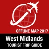 West Midlands 旅遊指南+離線地圖