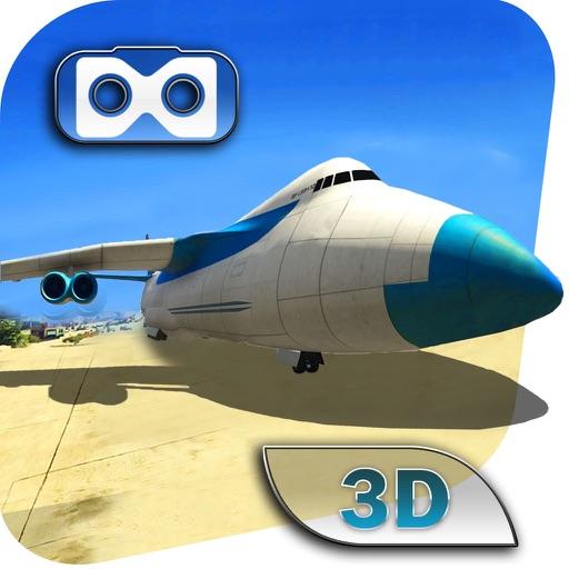 Vr Flying Simulator 2017 : Cargo Airplane Game iOS App