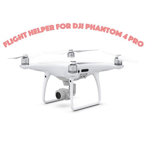 Flight Helper For Dji Phantom 4 Pro iOS App