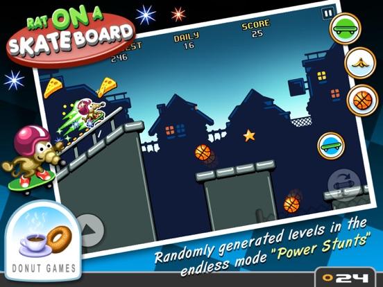 Rat On A Skateboard Screenshot