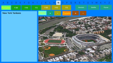 Screenshot #2 for 3D Sport Stadiums