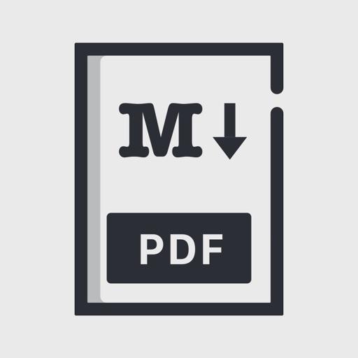 Markdown to PDF converter iOS App