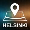 Helsinki, Finland, Offline Auto GPS