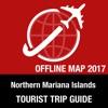 北马里亚纳 旅遊指南+離線地圖