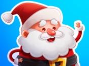 Добрый Санта – стикеры и наклейки в Новый год