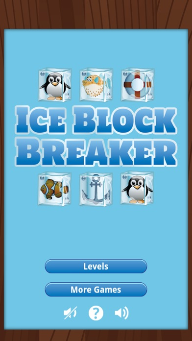 Ice Block Breaker Screenshot on iOS