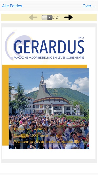 Screenshot for Gerardus Magazine 2017 in United States App Store