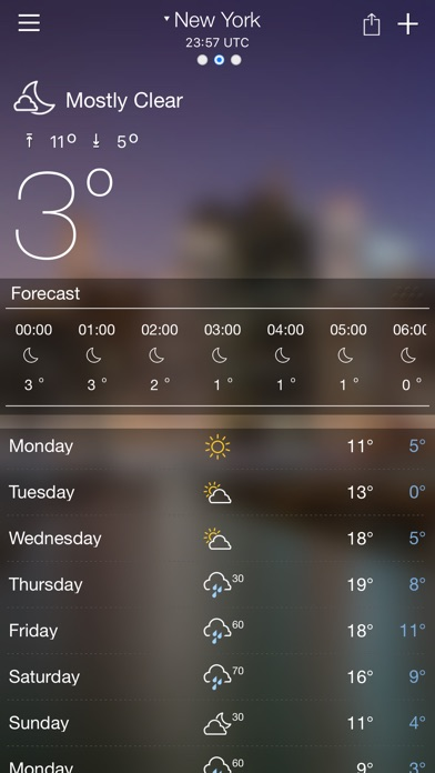 Weather forecast - Weather live with alertScreenshot of 1