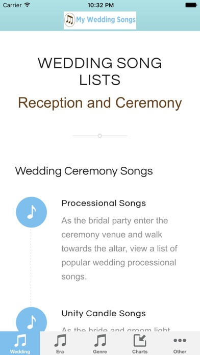 My Wedding Songs On The App Store