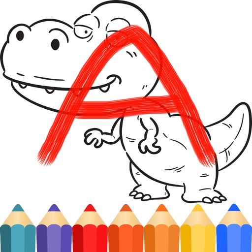 Dinosaurs Coloring Kids Book iOS App