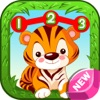 Kids animal with english puzzle games