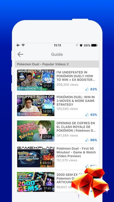 Free Gems Guide for Pokemon Duel-2