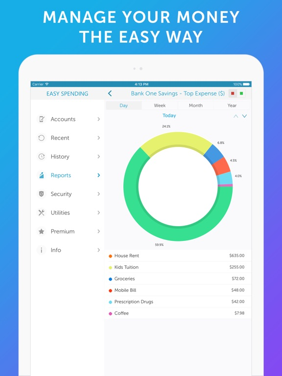 Easy Spending - Money Tracker & Budget Planner Скриншоты7