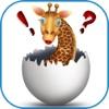 Giraffe Stickers- Animal pic Expression Sticker