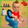 Baby Toilet Training Simulator 3D training simulator pocketaed