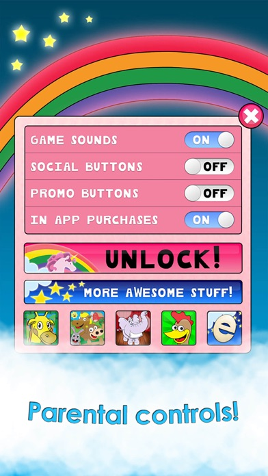 Screenshot #9 for Princess Games for Girls Games Unicorn Kids Puzzle