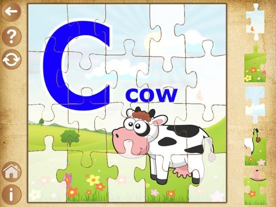Алфавит пазлы для детей и малышей - детские игры для iPad