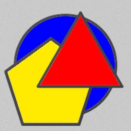 Geometric Shapes: Triangle & Circle Geometry Quiz iOS App