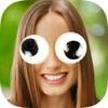 找到的眼睛貼紙-照片編輯器瘋狂眼睛