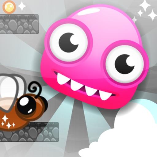 Little Pink Monster Jump iOS App