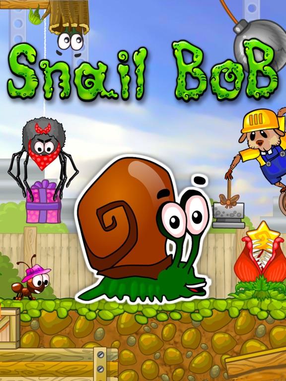 Snail Bob (Улитка Боб) на iPad