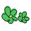 Green sticker - my cute baby stickers for iMessage