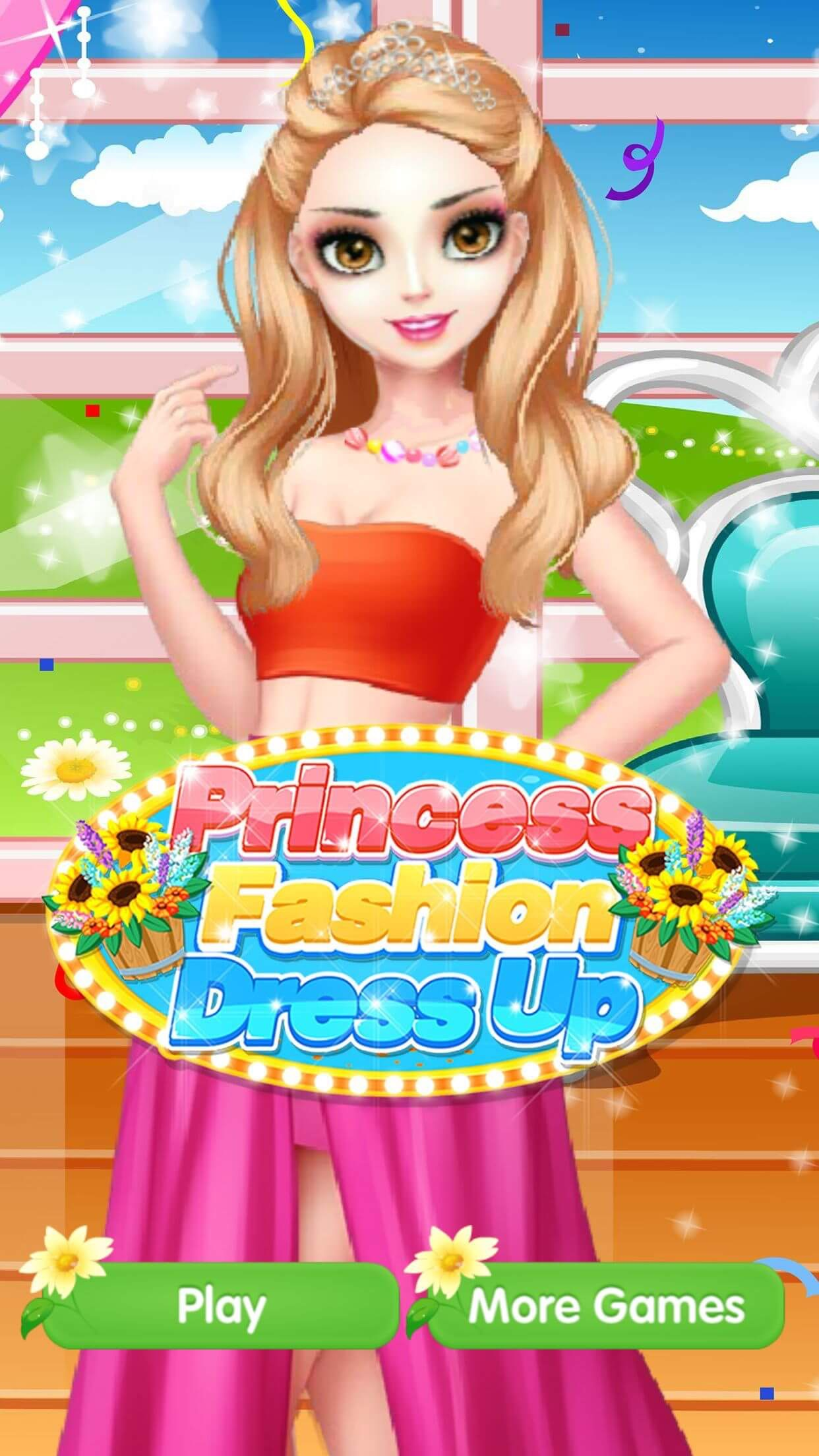 Princess Fashion Dress Up -Free Fun Girl Games by Le Zhao
