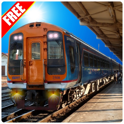 Mountain Orange Train Simulator iOS App